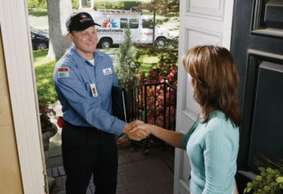 in-home estimate from Becht / Givens Service Experts Heating & Air Conditioning